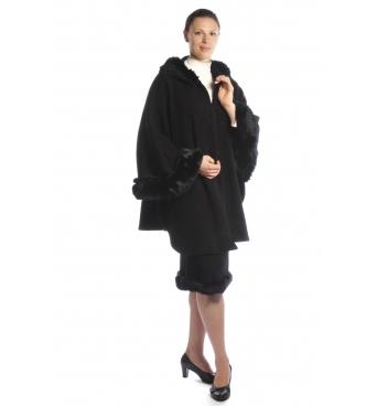 Ancora - dámský kostým s pelerínou