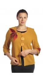 BR814 - Dámský svetr s aplikací