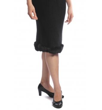 Ermitáž - dámské sukně s kožíškem