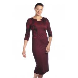 D3898 - dlouhé dámské šaty