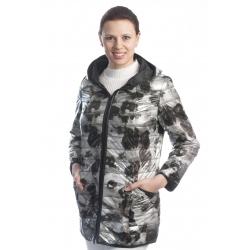dámská stříbrná bunda