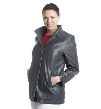 Elžbieta - dámská bunda imitace kůže