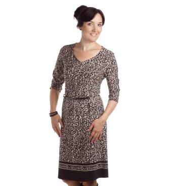 D4362 - dámské šaty oblázky