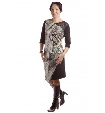 D4331 - dámské šaty Safari
