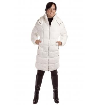 5158 - dámský kabát bílý