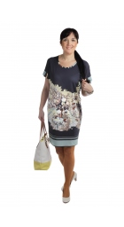 """D-4585 - dámské šaty """"Městečko"""""""