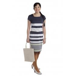 S 7-3 - dámské šaty motýlek