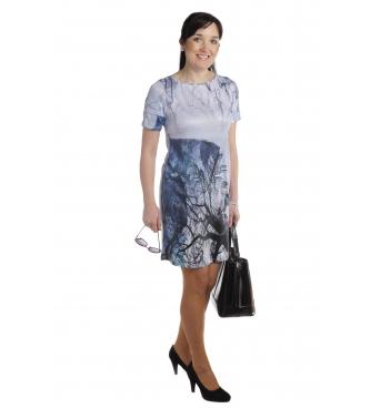 """MD1530 - dámské šaty """"les"""""""