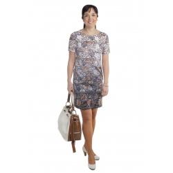 MD1533 - dámské šaty s květinovým vzorem