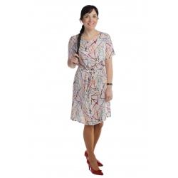 MD1547 - dámské letní šaty barevné vzory