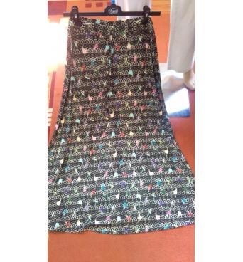 M7800 - dámská sukně dlouhá různé vzory