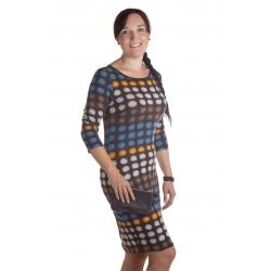 MD1654 - dámské šaty bublinky