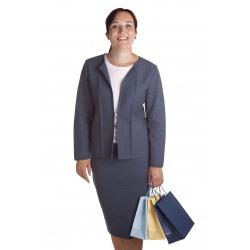 M9055+M9050  - dámský podzimní úpletový kostým