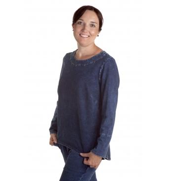 Gissi -  dámská džínová tunika