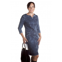 Agness - dámské džínové šaty