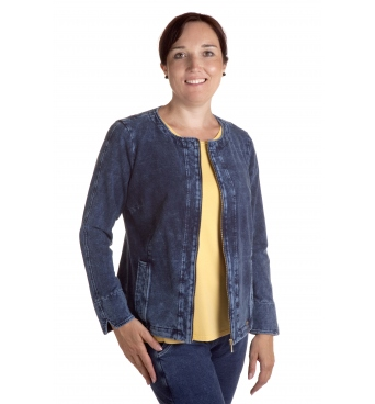 Margarita III - dámská džínový kabátek chanel