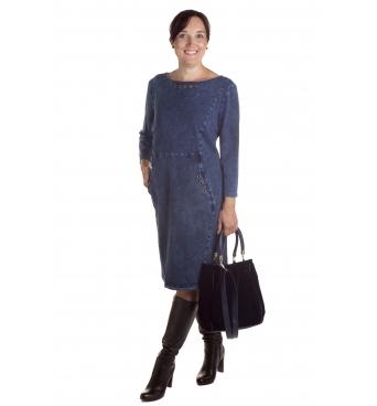 Sasza - dámské džínové šaty