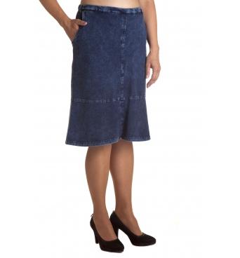 Gisela - dámská kratší džínová sukně