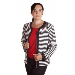 Žaneta - dámský kabátek chanel