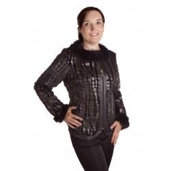 Futerka  - dámský kabátek s kožešinou