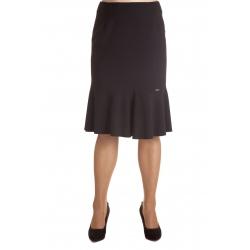 0245 - dámská klasická černá sukně
