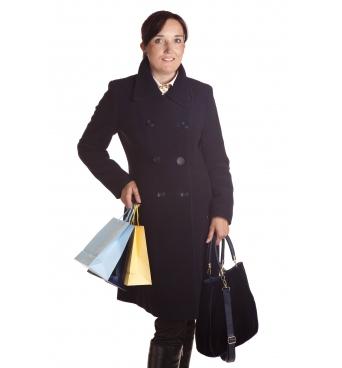 TP 11 - dámský kabát dvouřadý