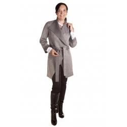 Wojaž - módní dámský dvoustranný kabát