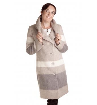 Judyta - dámský barevný kabát