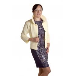 Pikowka - dámský žlutý kabátek