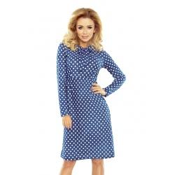 158-1 - Ola - dámské šaty puntík
