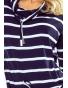 44-16 - dámské šaty námořnický proužek
