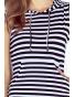 MM009-1 - Kangurka - dámské šaty s kapucou