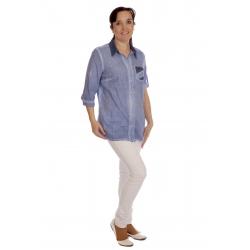 Drum 3- dámská košile jeans