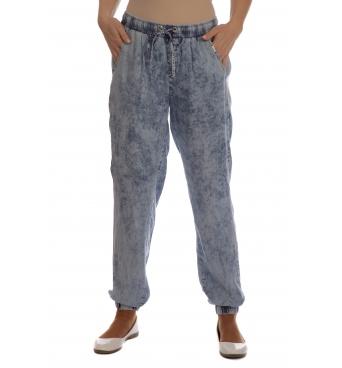 Daniela - dámské kalhoty lehký jeans