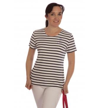 M9232 - dámské tričko námořnický pruh