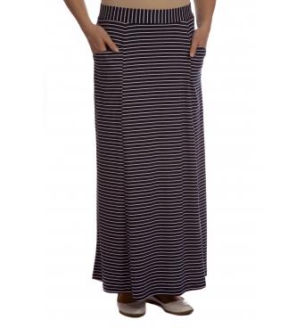 M9210 - dámská sukně námořnický proužek
