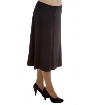 DAM 357 - dámská dlouhá jednobarevná sukně