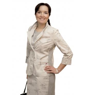 A1057 - dámské bavlněné sako