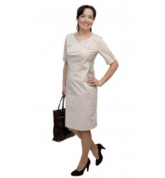 A3003 - dámské bavlněné šaty