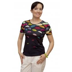 K 018-102 - dámské tričko barevné deštníky
