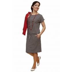 NM 139-1 - dámské šaty námořnický proužek