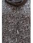NM 44-3 - dámské šaty antracitové nápisy