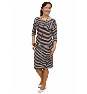 NM 13-51 - dámské šaty námořnický proužek