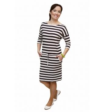 NM 13-46 - dámské šaty námořnický proužek