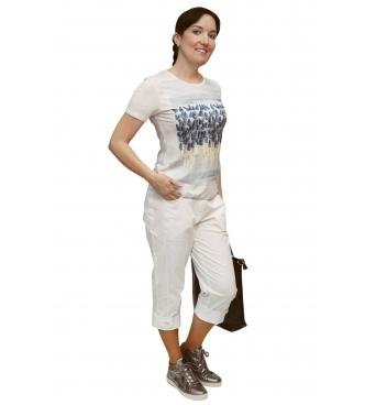 K019-103 - dámské tričko modřence