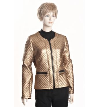 D3513 A - Kabátek žlutý