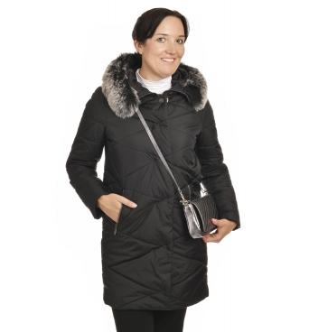 Stella - dámská zimní černá bunda