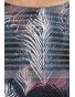 K019-575S - dámské šaty barevná peříčka v pruzích