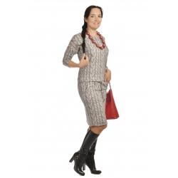 NM13-88 - dámské šaty s copánky
