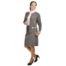 AL1981+1750 - dámský elegantní úpletový kostým